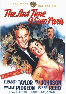 A Última Vez Que Vi Paris - Poster / Capa / Cartaz - Oficial 1