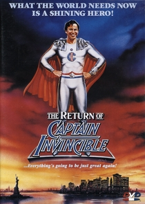 The Return of Captain Invincible - Poster / Capa / Cartaz - Oficial 1