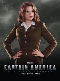 Capitão América: O Primeiro Vingador - Poster / Capa / Cartaz - Oficial 9