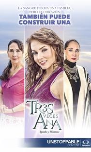 Tres Veces Ana - Poster / Capa / Cartaz - Oficial 8