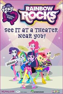 My Little Pony: Garotas de Equestria - Rainbow Rocks - Poster / Capa / Cartaz - Oficial 1