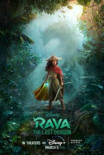 Raya e o Último Dragão - Poster / Capa / Cartaz - Oficial 2