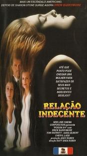Relação Indecente - Poster / Capa / Cartaz - Oficial 2
