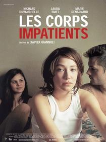 Os corpos impacientes - Poster / Capa / Cartaz - Oficial 1