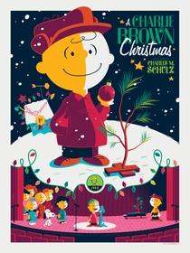 O Natal do Charlie Brown - Poster / Capa / Cartaz - Oficial 4