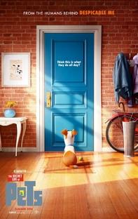 Pets: A Vida Secreta dos Bichos - Poster / Capa / Cartaz - Oficial 1