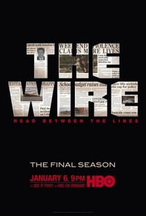 The Wire (5ª Temporada) - Poster / Capa / Cartaz - Oficial 1