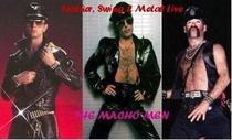 The Macho Men - Leather, Swing & Metal Live - Poster / Capa / Cartaz - Oficial 1