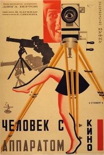 Um Homem Com uma Câmera - Poster / Capa / Cartaz - Oficial 4