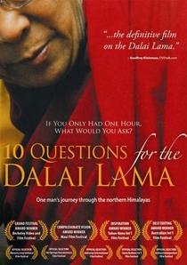 10 Perguntas para o Dalai Lama - Poster / Capa / Cartaz - Oficial 1