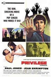 Privilégio - Poster / Capa / Cartaz - Oficial 2
