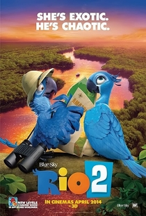 Rio 2 - Poster / Capa / Cartaz - Oficial 1