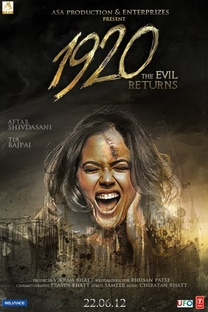 1920 - Evil Returns - Poster / Capa / Cartaz - Oficial 2