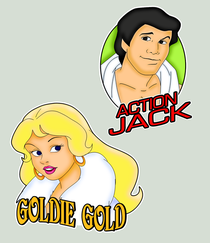 Goldie Gold - Poster / Capa / Cartaz - Oficial 1