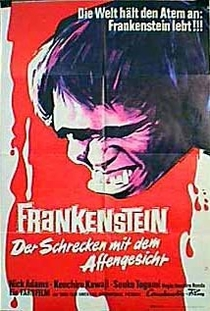 Frankenstein Conquers the World - Poster / Capa / Cartaz - Oficial 1