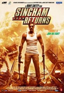 Singham Returns - Poster / Capa / Cartaz - Oficial 5