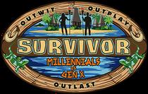 Survivor: Millennials vs. Gen (33ª Temporada) - Poster / Capa / Cartaz - Oficial 2