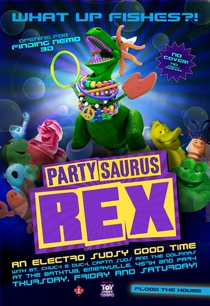 Toy Story: Festa-Sauro Rex - Poster / Capa / Cartaz - Oficial 1