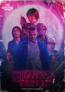 Stranger Things (1ª Temporada) - Poster / Capa / Cartaz - Oficial 7