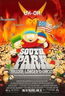 South Park: Maior, Melhor e Sem Cortes - Poster / Capa / Cartaz - Oficial 2