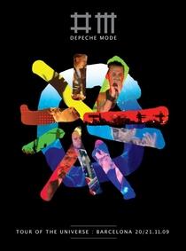 Depeche Mode: Tour of the Universe - Barcelona 20/21.11.09 - Poster / Capa / Cartaz - Oficial 1