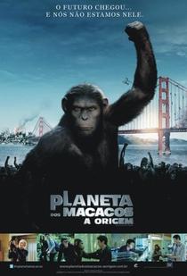Planeta dos Macacos: A Origem - Poster / Capa / Cartaz - Oficial 3