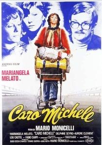Caro Michele - Poster / Capa / Cartaz - Oficial 1