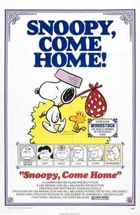 Snoopy, Volte ao Lar - Poster / Capa / Cartaz - Oficial 1