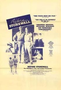 Antes de Stonewall - Poster / Capa / Cartaz - Oficial 3