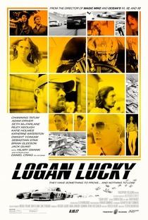 Logan Lucky - Roubo em Família - Poster / Capa / Cartaz - Oficial 2