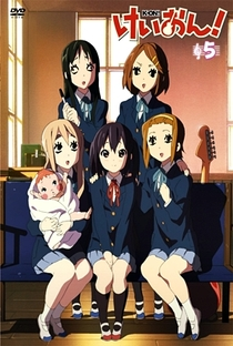 K-On! (1ª Temporada) - Poster / Capa / Cartaz - Oficial 4