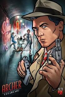 Archer (8ª Temporada) - Poster / Capa / Cartaz - Oficial 1