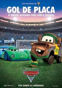 Carros 2 - Poster / Capa / Cartaz - Oficial 4