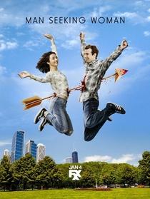 Man Seeking Woman (3ª Temporada) - Poster / Capa / Cartaz - Oficial 3