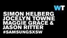 Simon Helberg, Maggie Grace & Jason Ritter (We'll Never Have Paris) | #SamsungSXSW
