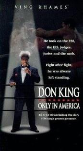 Don King - O Rei do Boxe - Poster / Capa / Cartaz - Oficial 1