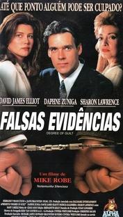 Falsas Evidências - Poster / Capa / Cartaz - Oficial 1