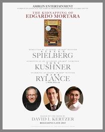 The Kidnapping of Edgardo Mortara - Poster / Capa / Cartaz - Oficial 1