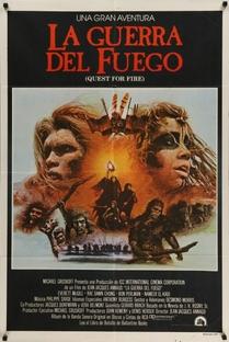A Guerra do Fogo - Poster / Capa / Cartaz - Oficial 7
