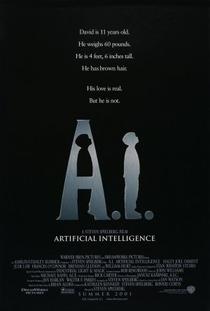 A.I. Inteligência Artificial - Poster / Capa / Cartaz - Oficial 1