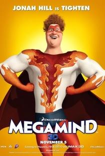 Megamente - Poster / Capa / Cartaz - Oficial 10