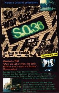 So war das S.O.36 - Poster / Capa / Cartaz - Oficial 1