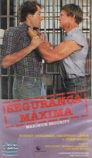 Segurança Máxima - Poster / Capa / Cartaz - Oficial 1