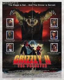 Grizzly II: The Concert  - Poster / Capa / Cartaz - Oficial 2
