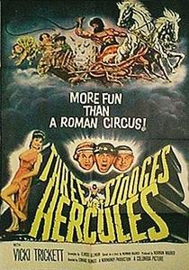 Os Três Patetas com Hércules no Olimpo - Poster / Capa / Cartaz - Oficial 2