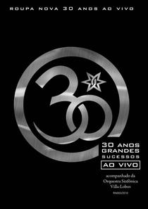 Roupa Nova 30 Anos - Ao Vivo - Poster / Capa / Cartaz - Oficial 1