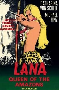 Lana, Rainha das Amazonas - Poster / Capa / Cartaz - Oficial 3