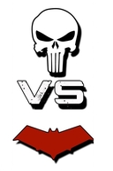 Justiceiro Vs Capuz Vermelho (Punisher Vs Red Hood)