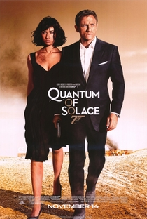 007 - Quantum of Solace - Poster / Capa / Cartaz - Oficial 2