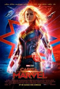 Capitã Marvel - Poster / Capa / Cartaz - Oficial 2